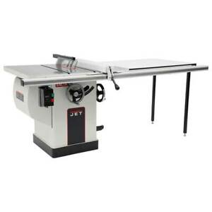 Jet 708675pk Xactasaw Deluxe 3 hp 50 inch Table Saw Rip Fence