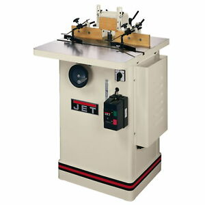 Jet Jws 25cs 3hp Shaper 1ph 230v Only 1 2 3 4 Spindles 25 x25 Table 708322