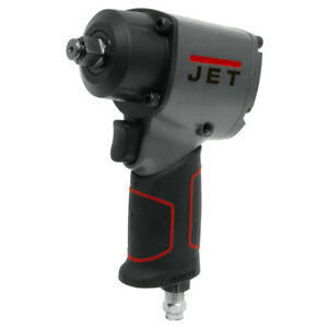 Jet 505107 1 2 inch 960 Ft lbs Twin Hammer Pneumatic Compact Impact Wrench