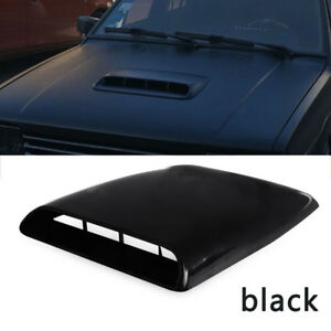 Hot Universal Car Roof Decorative Air Flow Intake Hood Scoop Vent Bonnet Cover