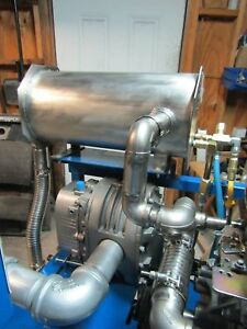 Truck Mount Patented Heat Exchanger 3500 Psi Rated Superior Heat H style 1 5 In