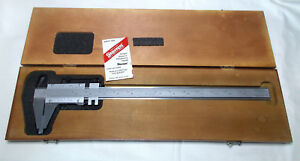 Starrett No 123 14 Master Vernier Caliper In Wood Case