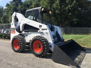 2008 Bobcat S300 Rubber Tire Skid Steer Loader Diesel Bob Cat Tractor