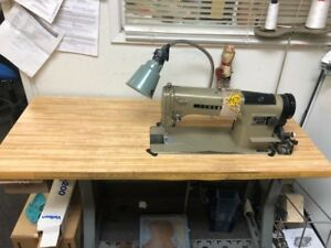 Consew Single Needle Sewing Machine Model 230 Pre owned