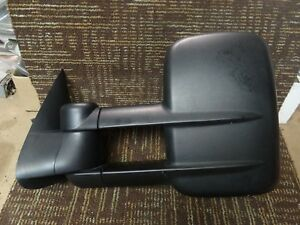 M526 07 08 09 10 11 12 13 14 Chevy Suburban Driver Side Mirror Left Tow Dual
