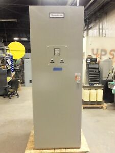 Russelectric 1600 Amp Non Automatic Manual Transfer Switch Ats 3 Phase Pole 480v