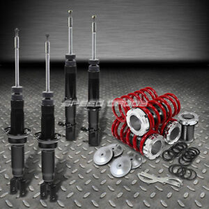 Dna For Civic Ej Em Gas Shocks Absorber Scale Adjustable Coilover Red Springs