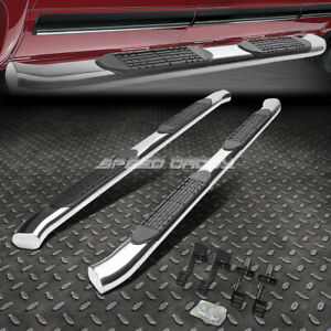 For 04 14 Ford F150 Truck Ext 4 Chrome Curved Oval Step Nerf Bar Running Board