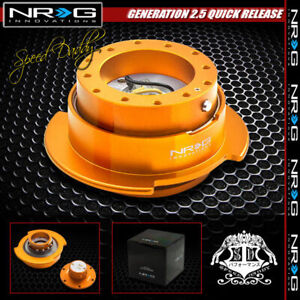 Universal Nrg Steering Wheel Thin 6 hole Gen 2 5 Quick Release Adaptor Rose Gold