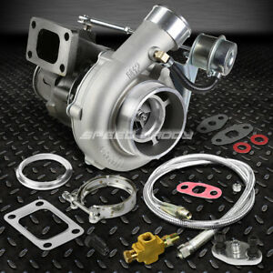 T04e t04 T3 t4 Ar 63 Anti surge 300 hp Turbo Charger wastegate 36 oil Feed Line