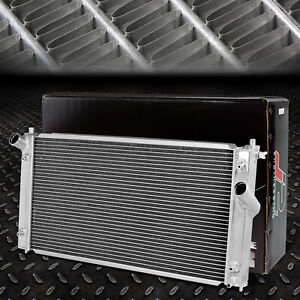 J2 2 row Polished Full Aluminum Racing Radiator For 00 05 Toyota Celica Gt gts