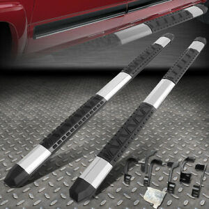 For 09 18 Dodge Ram Truck Crew Cab Light Weight 5 Aluminum Side Step Nerf Bars