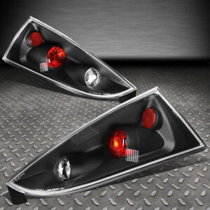 For 02 07 Ford Focus 5dr Wagon Black Housing Tail Light Rear Brake Parking Lamps