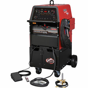 Lincoln Electric Precision Tig 275 Ac dc Tig Welder Ready pak 208 230 460 Volt