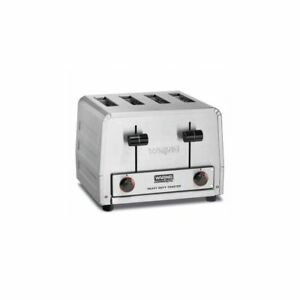 Waring Commercial Wct800 120v Heavy duty 2200w 4 slot Toaster