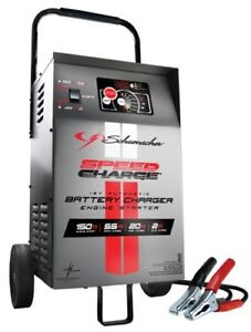Schumacher Se 1555a 12v Automatic Wheeled Battery Charger W Engine Start