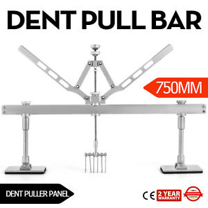 750mm Dent Pull Lever Bar Kit 6 Claw Hook Puller Rings Steel Dent Pulling