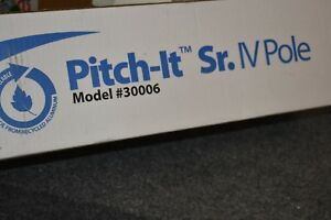 New Sharps Pitch it Sr Portable Collapsible Iv Pole Model 30006 W Wheels Ahpq