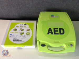 Zoll Aed Plus Defib W new Cpr d padz And Batteries