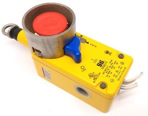 Sti Er6019 Combination Rope And Push button Actuated Emergency Stop Switch