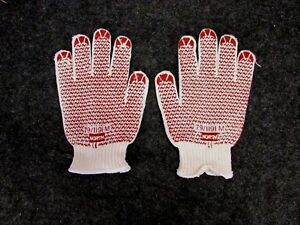 New Lot Of 12 Pair North Safety Knit Grip n Dot Gloves 79 1191m