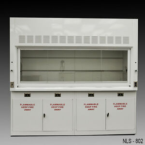 8 Laboratory Chemical Fume Hood With Flammable Cabinets Nls 802