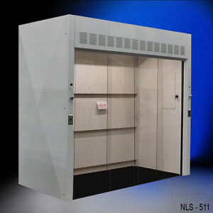 New Laboratory 8 Walk In Chemical Fume Hood With 39 Deep Work Area New