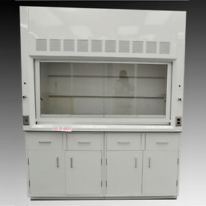New Chemical 6 Fume Hood With Epoxy Top Cabinets New