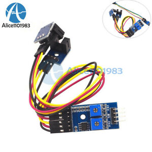 2 channel Speed Detection Optical Motor Sensor Groove Coupler Counting Module
