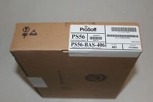 Factory Sealed Prosoft Ps56 bas 406 Ps56bas406 Mfg 07 2012