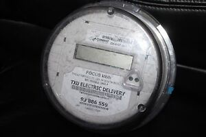 Landis Gyr Watthour Meter Type Alf Form 2s Cl200 240v 3w 60hz Focus Kwh Used B
