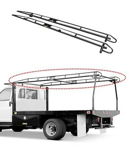 79010 Kargomaster Pro Ii Series Ladder Rack Side Rail For Ext Crew 9 Or 11 Bed