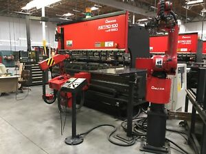 Amada Astro 100 Cnc Robotic 125 Ton Press Brake Year 1997