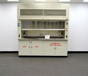Chemical 8 Dura Lab Fume Hood With Epoxy Top Acid Flammable Cabinets