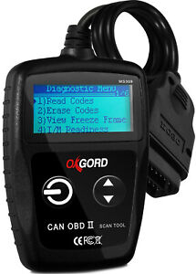Obdii Scanner Code Reader Oxgord Ms309 Obd2 Scan Tool Diagnostic Suv Car Truck