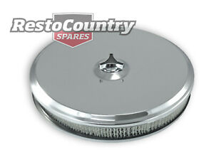 Speco Chrome Air Cleaner 14 O d X 2 High clamp Holley Quadrajet Intake Filter