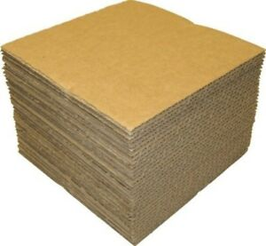 50 Pack Brown 12 Lp Vinyl Record Pads 12 7 16 X 12 7 16 Protection Shipping