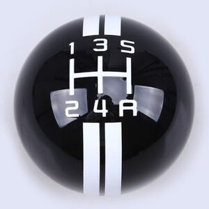 Round Shape Manual 5speed Shift Knob Shifter Lever For Ford Mustang Shelby Gt500