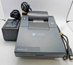 Verifone P250 Credit Card Printer Pre owned