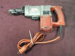 Milwaukee 5347 1 1 2 Rotary Hammer In Red Metal Case 6014 1 Bz