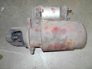 Starter Ih International Farmall 544 656 666 686 Gear Drive