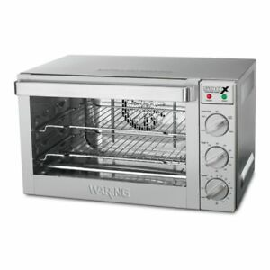 Waring Commercial Wco500x 120v Half size Convection Oven