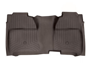 Weathertech Floor Mats Floorliner For Silverado Sierra Crew Cab 2nd Row Cocoa