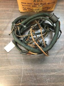 1942 1947 Ford Dash Cowl Wiring Harness Nos Ford 918