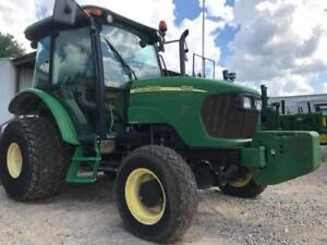 2005 John Deere 5525 Farm Tractor 4x4 445 Hours Cab And Air 91hp