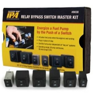 Fuel Pump Relay Bypass Master Kit Ipa9038 Brand New