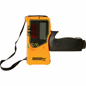 Johnson Level Tool Pulse Laser Detector W clamp 40 6780
