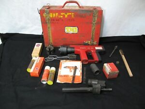 Hilti Dx451 Powder Actuated Fastening Tool bundle With Case And Extras