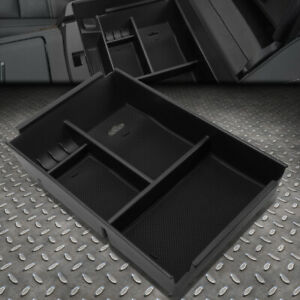 For 09 14 Ford F150 Removable Center Console Storage Box Armrest Organizer Tray