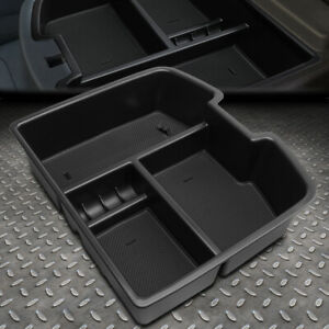 For 07 14 Chevy Tahoe gmc Yukon Center Console Organizer Armrest Storage Tray